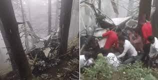 जम्मू कश्मीर के उधमपुर में सेना के हेलीकॉप्टर की क्रैश लैंडिंग, दोनों पायलट शहीद…